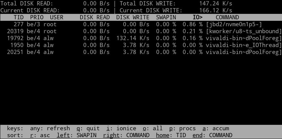 Кунг-фу стиля Linux: мониторинг дисковой подсистемы - 3