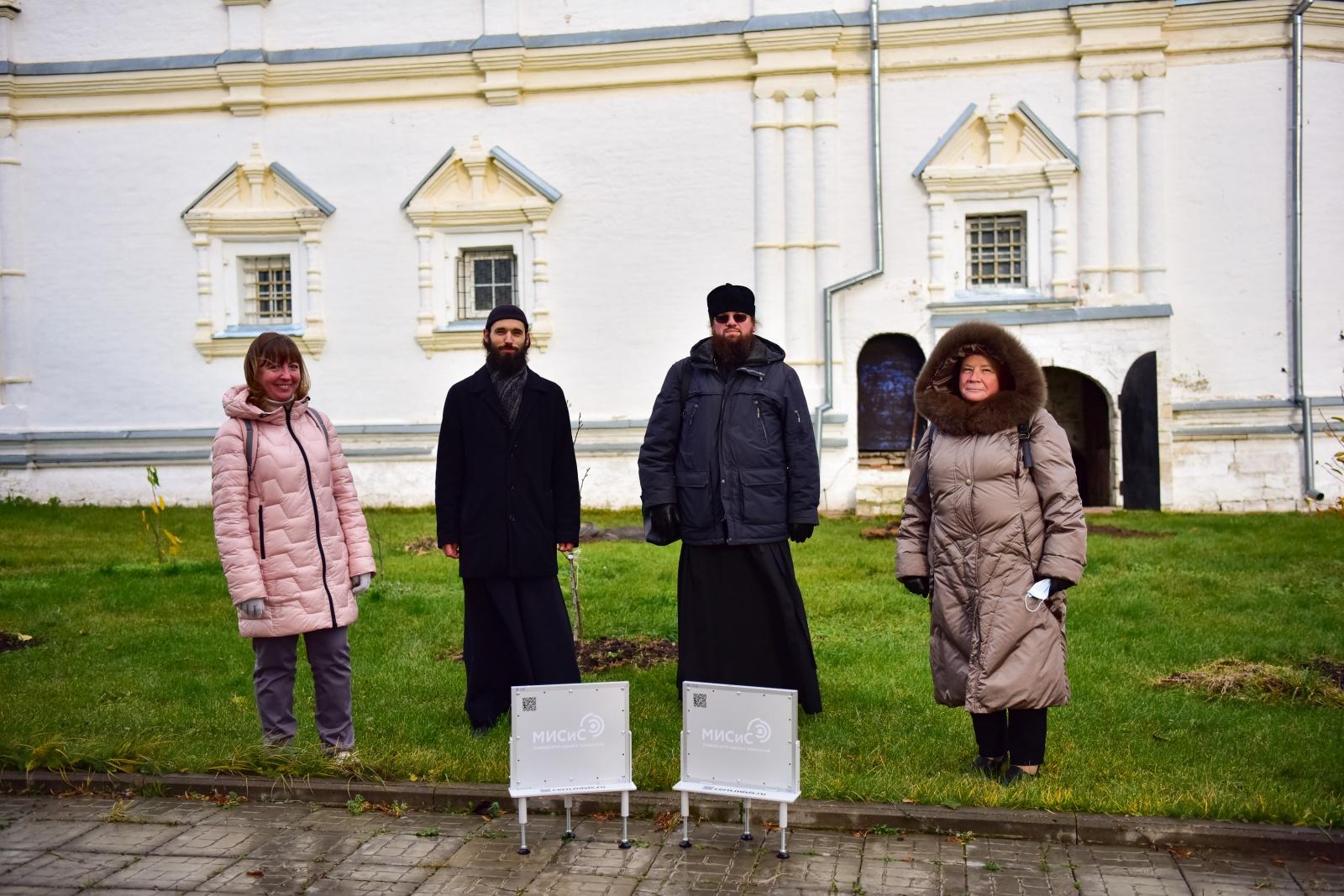 Татьяна Щедрина, о.Пантелеимон, о.Родион, Наталья Полухина