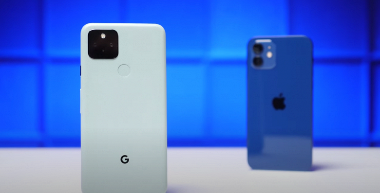 iPhone 12 против Google Pixel 5. Какой из смартфонов автономнее?