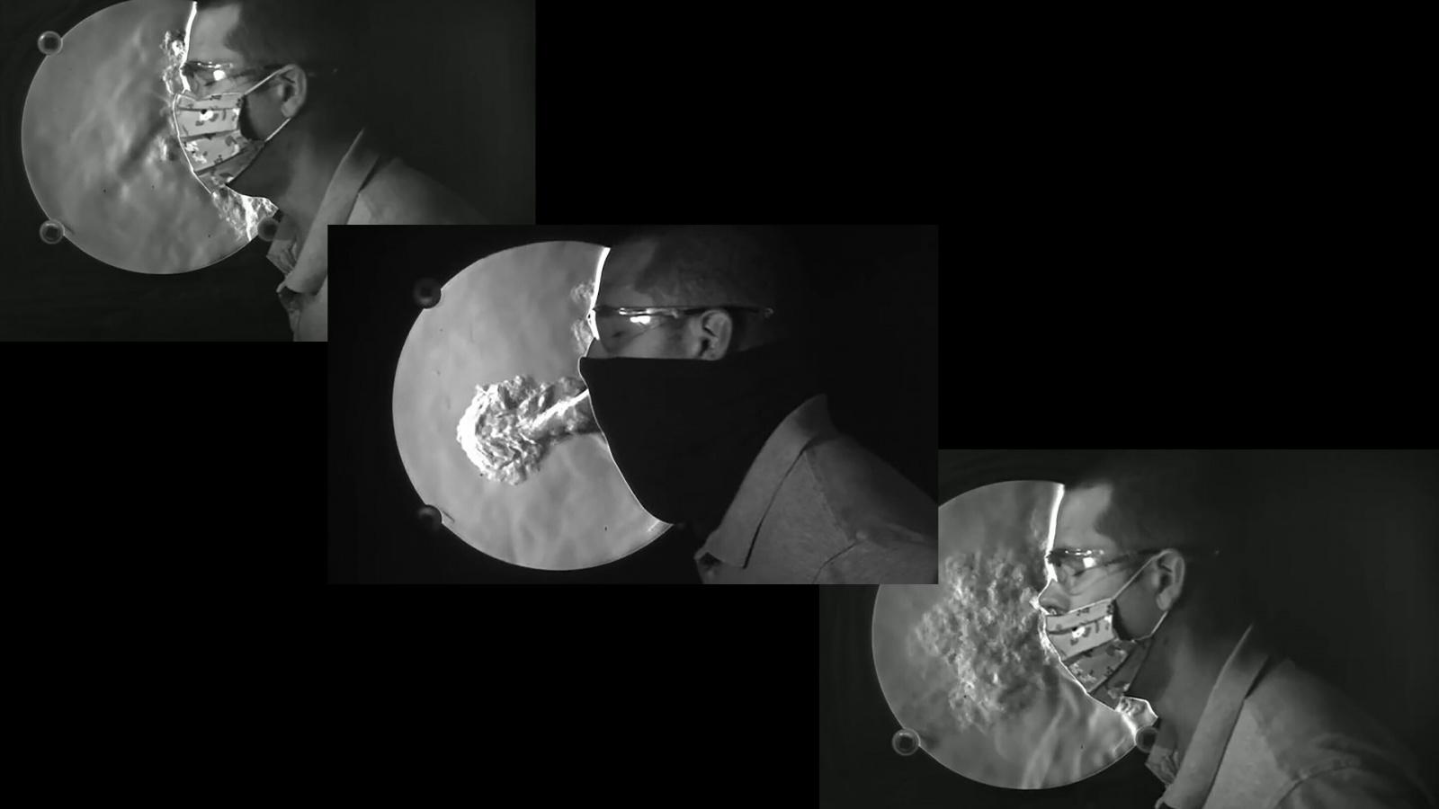 Новые видео демонстрируют, почему маски с клапанами не замедляют распространение COVID-19 - 1