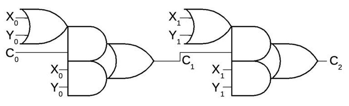 Инженерный анализ схемы ускоренного переноса процессора Intel 8008 - 5