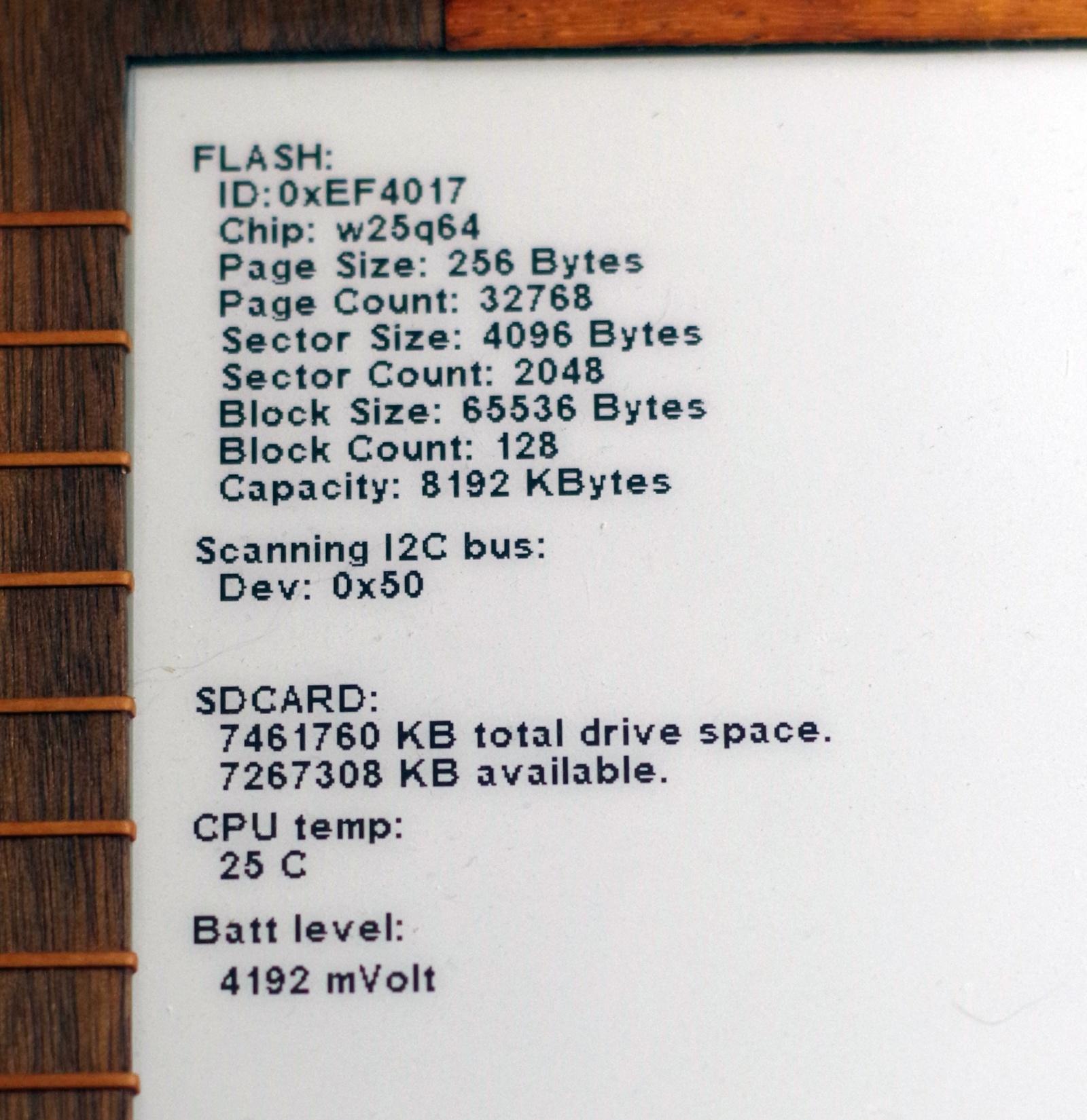 Электронная книга своими руками на STM32H750 от А до Э - 18