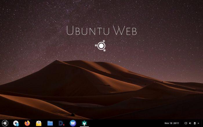 Ubuntu Web Remix — альтернатива Chrome OS c браузером Firefox вместо Google Chrome - 1