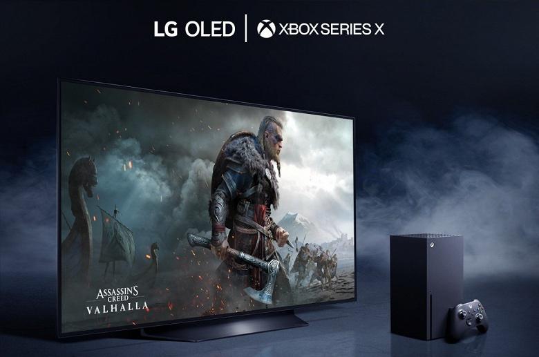 Для Xbox Series X рекомендуют телевизоры LG