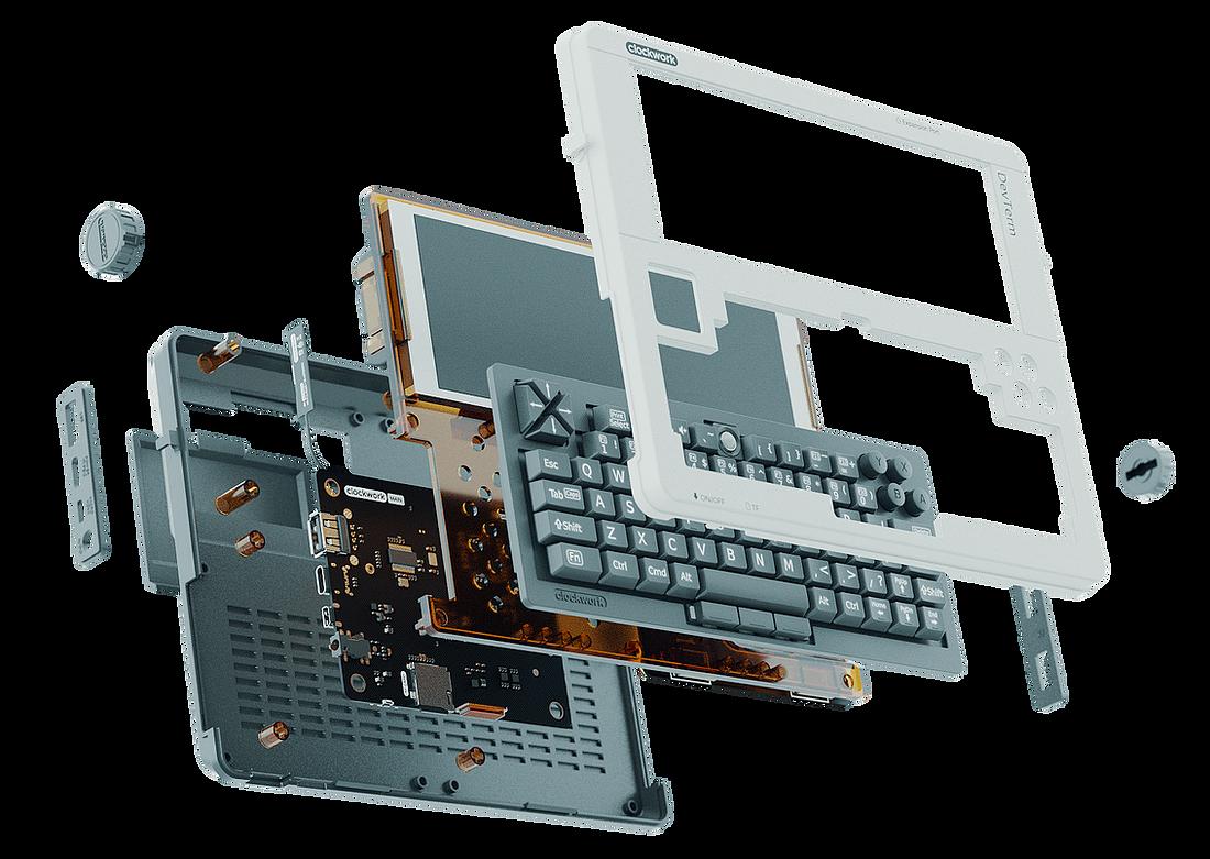 DevTerm — портативный open-source компьютер с модульным дизайном в стиле ретро и с кучей возможностей - 2