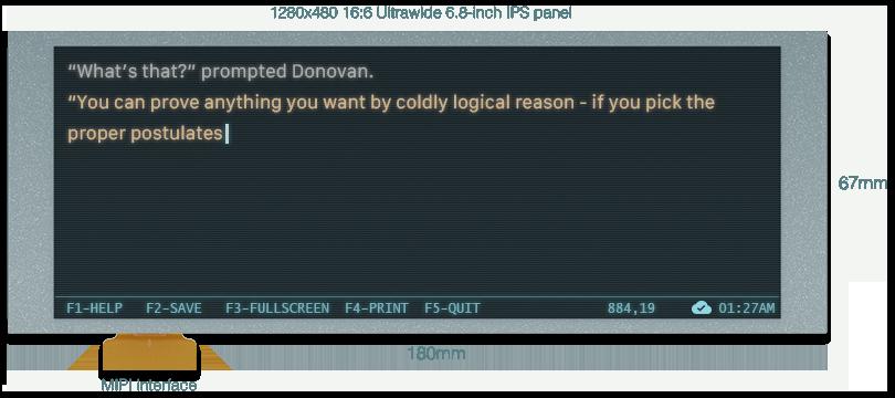 DevTerm — портативный open-source компьютер с модульным дизайном в стиле ретро и с кучей возможностей - 8