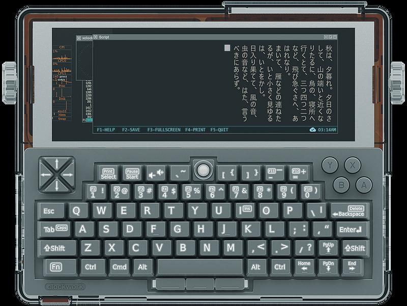 DevTerm — портативный open-source компьютер с модульным дизайном в стиле ретро и с кучей возможностей - 1