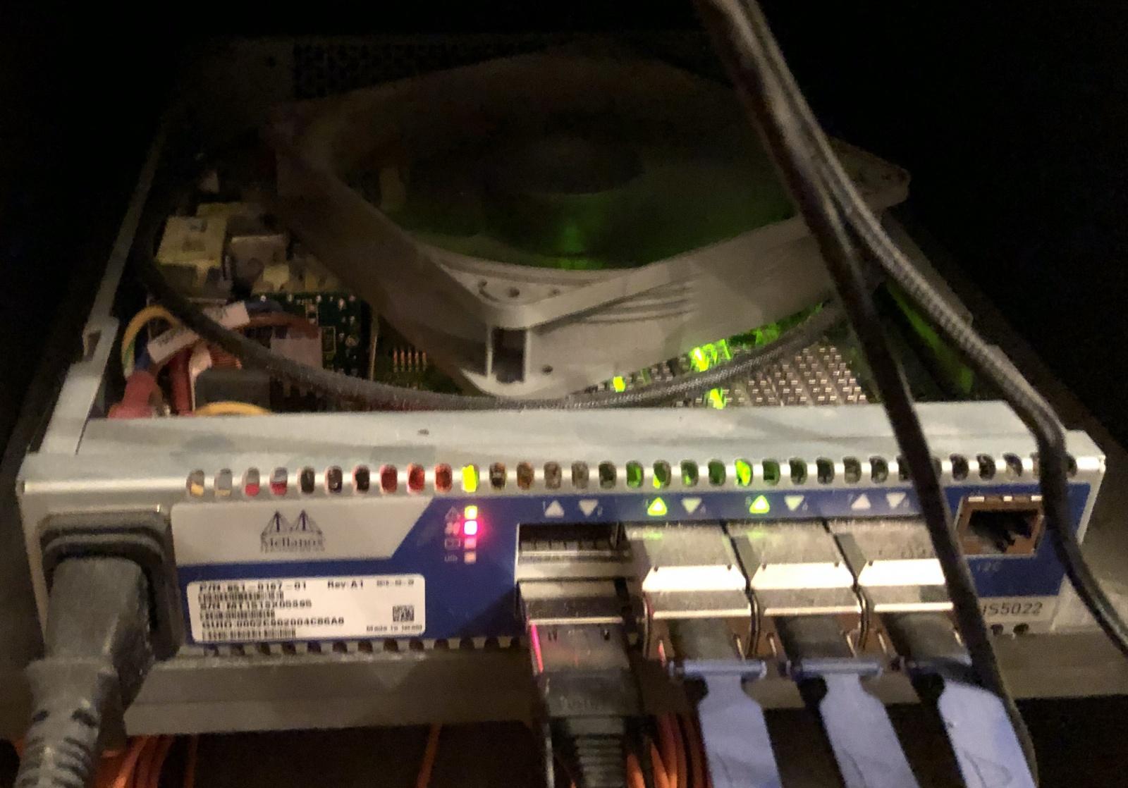 Быстрая сеть в домашней лаборатории или как я связался с InfiniBand - 4