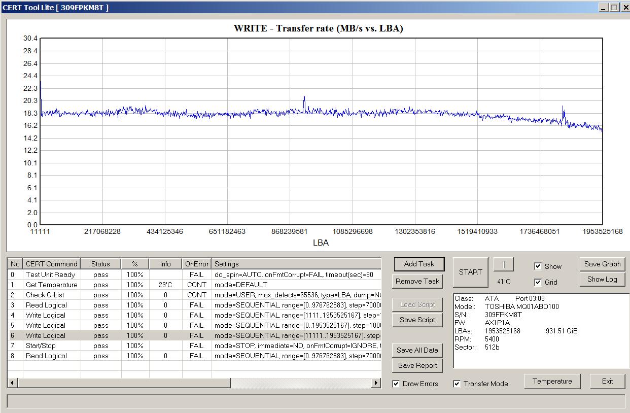 Как определить, что в жестком диске применена технология SMR - 15