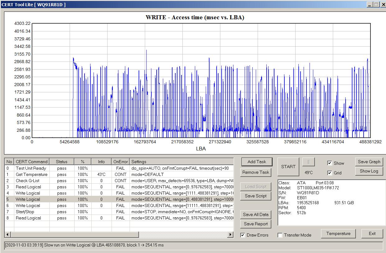 Как определить, что в жестком диске применена технология SMR - 17