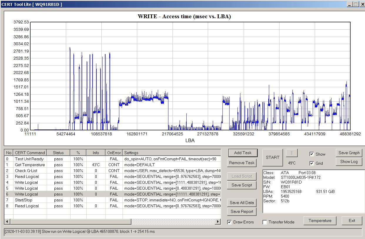 Как определить, что в жестком диске применена технология SMR - 18