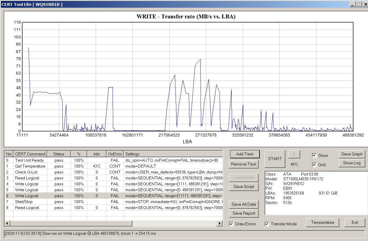 Как определить, что в жестком диске применена технология SMR - 6