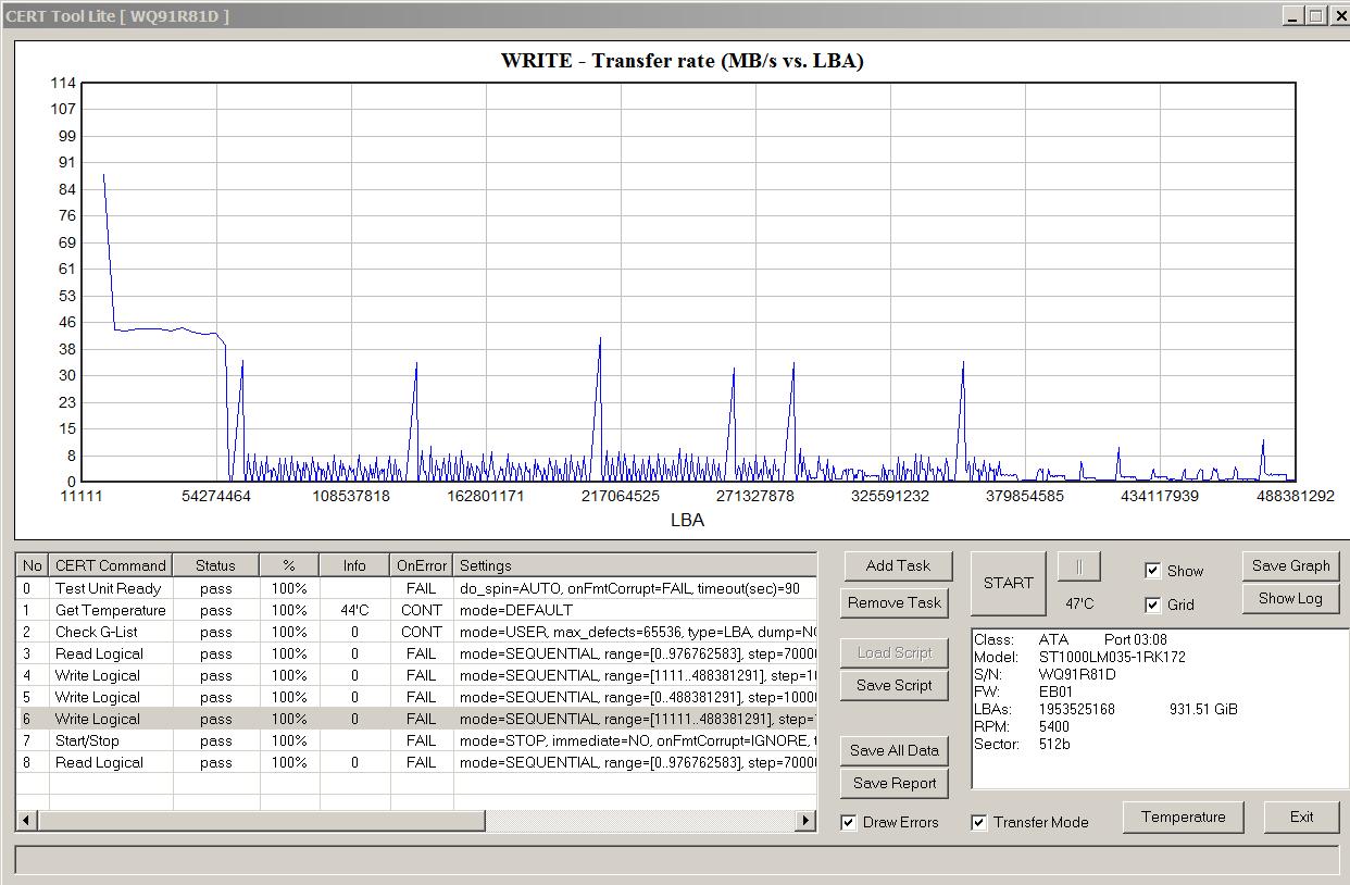 Как определить, что в жестком диске применена технология SMR - 7