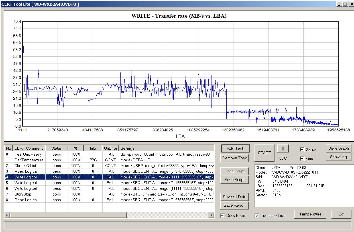 Как определить, что в жестком диске применена технология SMR - 9