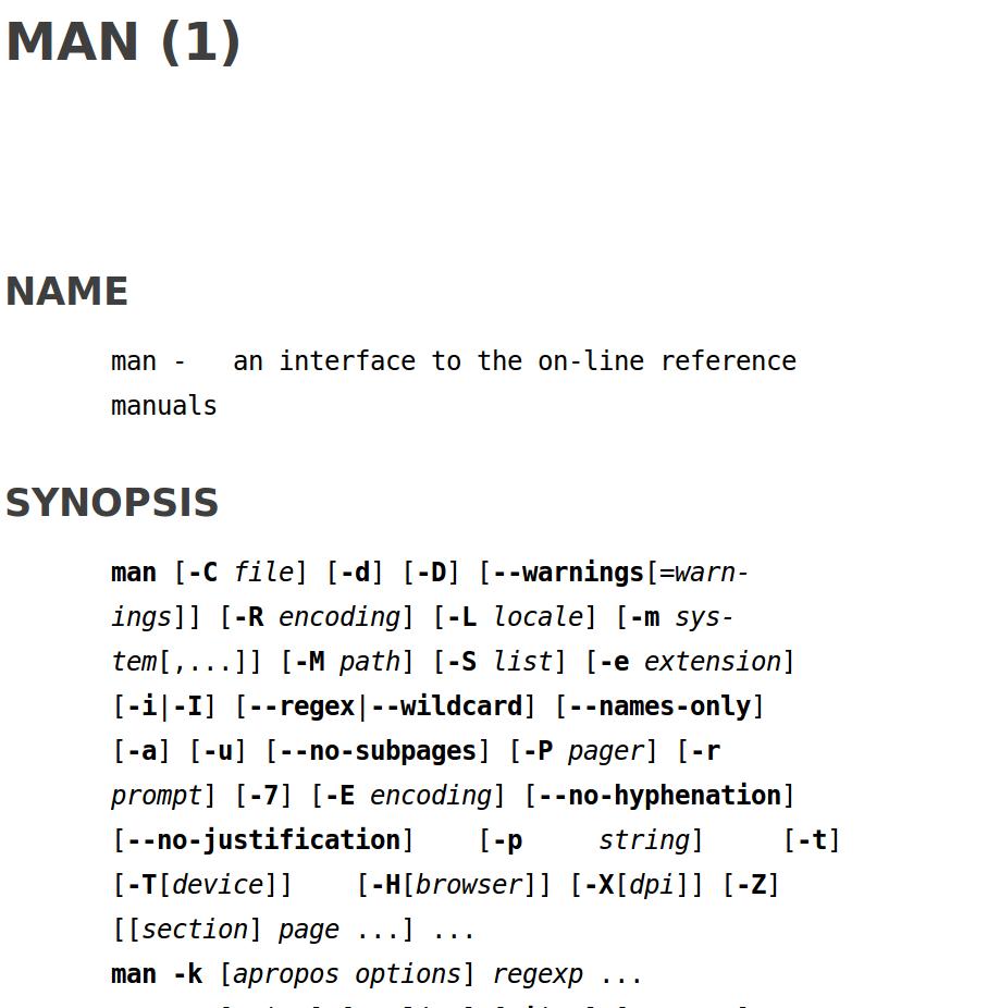 Кунг-фу стиля Linux: удобный доступ к справке при работе с bash - 2