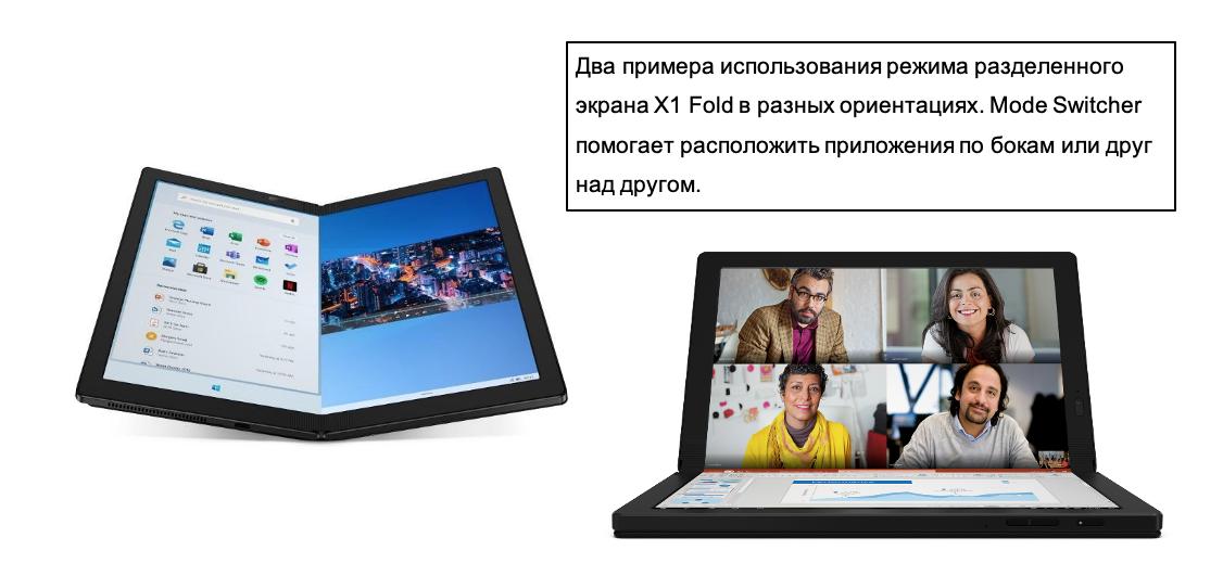 Lenovo ThinkPad X1 Fold — первый в мире ноутбук с гибким экраном - 4