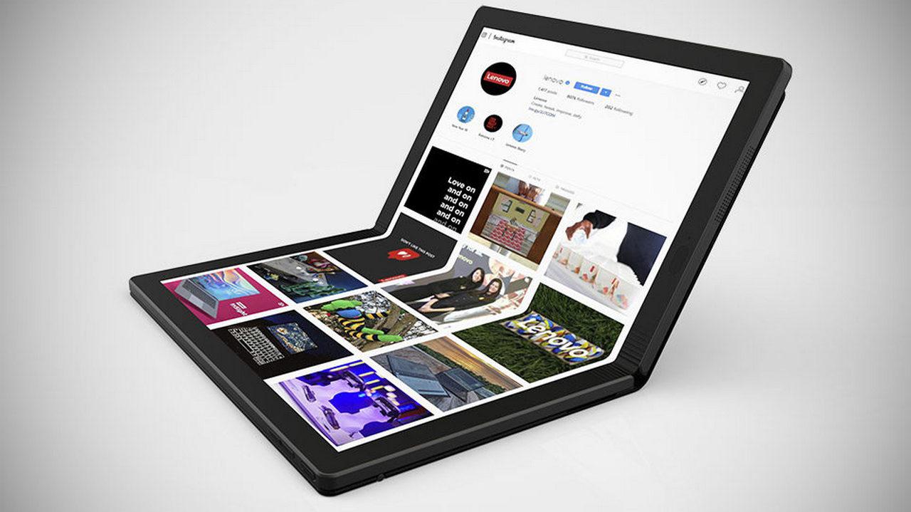Lenovo ThinkPad X1 Fold — первый в мире ноутбук с гибким экраном - 1