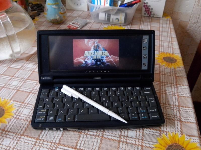 Идеальный клавиатурный КПК Jornada 720 - 19