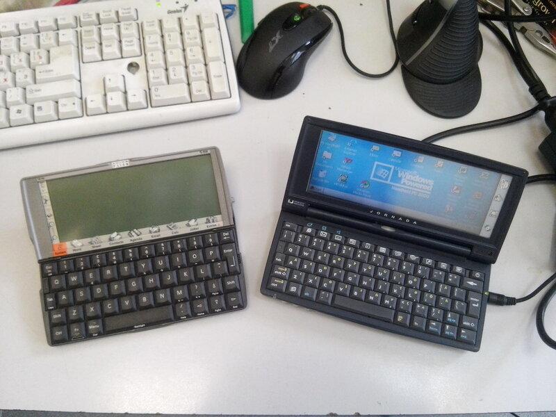 Идеальный клавиатурный КПК Jornada 720 - 2