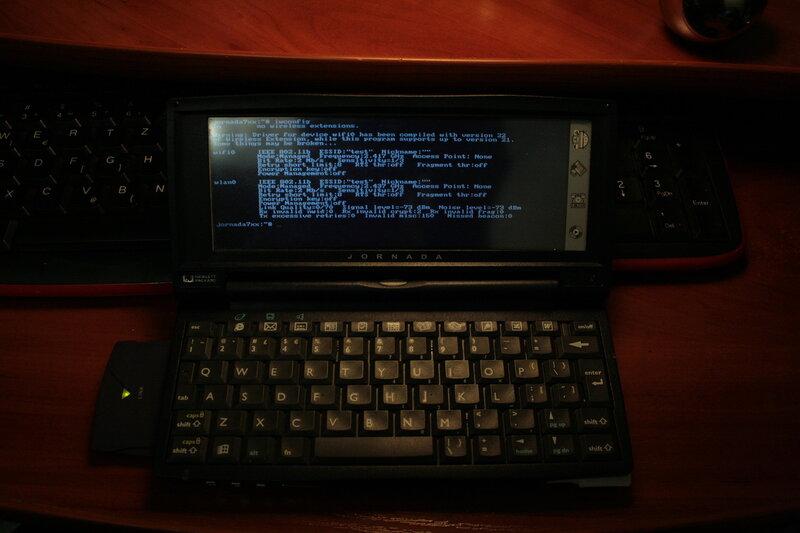 Идеальный клавиатурный КПК Jornada 720 - 21