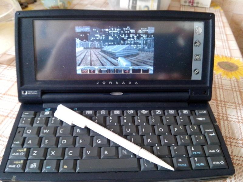 Идеальный клавиатурный КПК Jornada 720 - 30