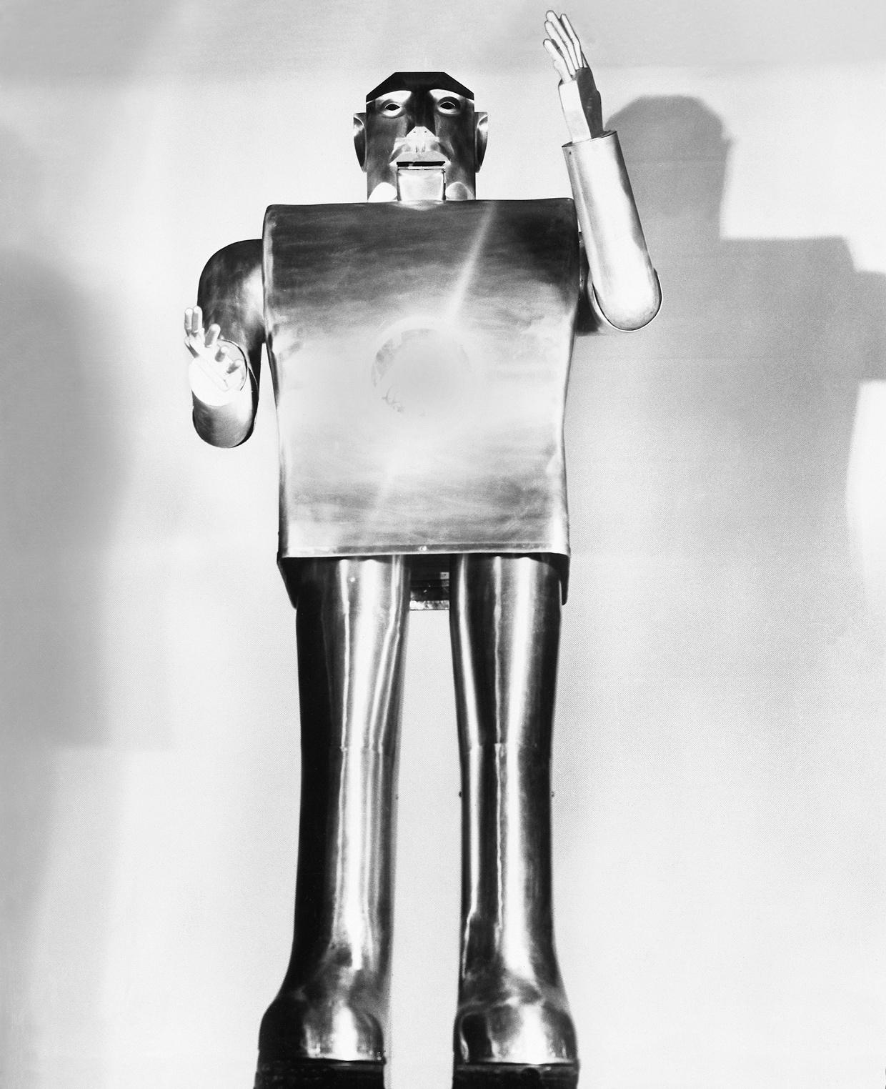Электро, умнейший робот Всемирной выставки 1939 года - 1