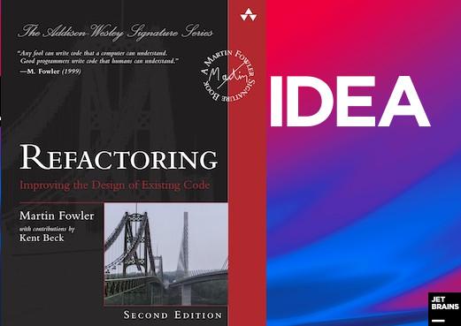 Раздел «Refactor» в IDEA - 1
