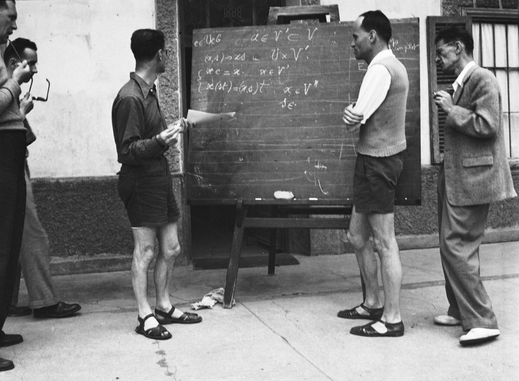 Подробнее о тайном математическом обществе, известном под именем «Никола Бурбаки» - 4
