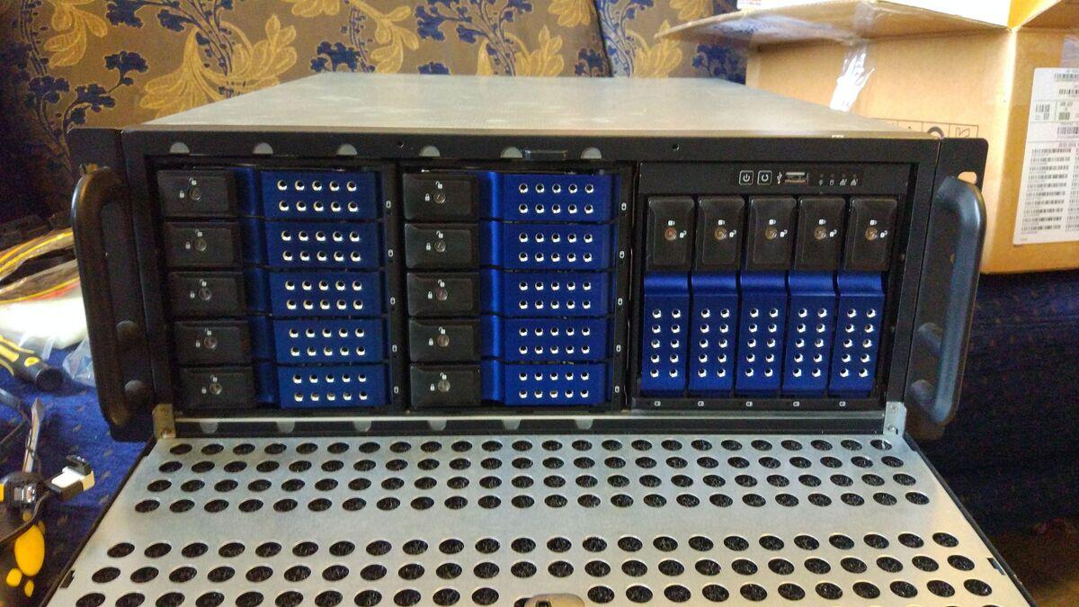 Домашний сервер, или приключение длиной в 6 лет. Часть первая - 1