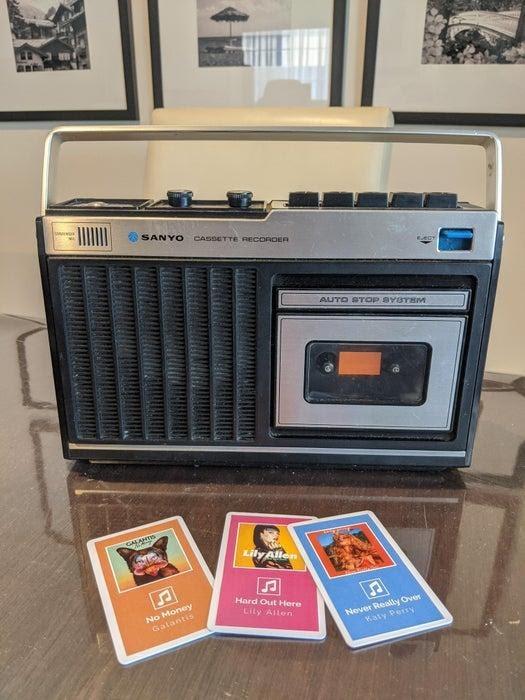 Олдскульный кассетный магнитофон и новые «кассеты» - 17