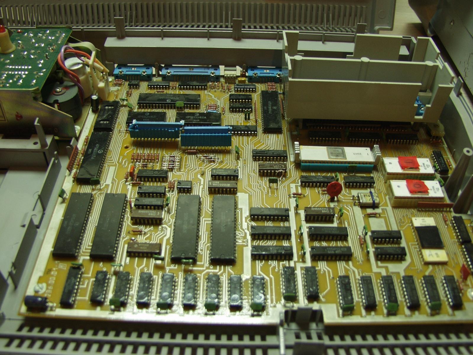 Советская IBM-PC Электроника МС-1502 - 5