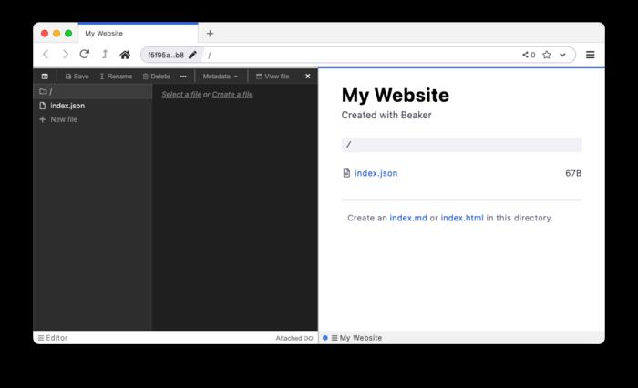 Команда энтузиастов выпустила P2P-браузер Beaker 1.0 после двух лет разработки - 1
