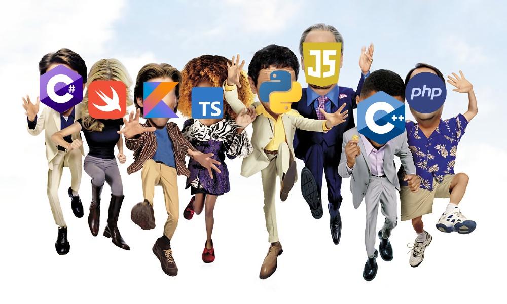 Самые популярные языки программирования. Хабратоп 2020 года - 1
