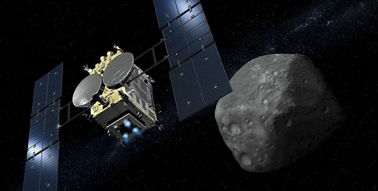 Японский космический аппарат сбросил на Землю капсулу с образцами астероида Рюгу