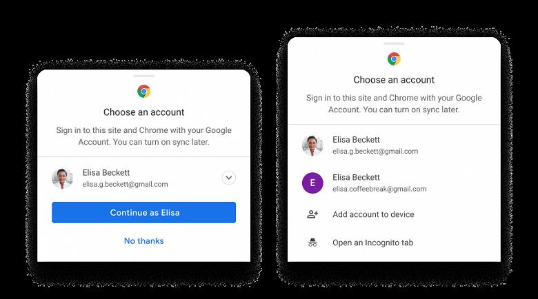 Google упростила синхронизацию между устройствами для пользователей Chrome