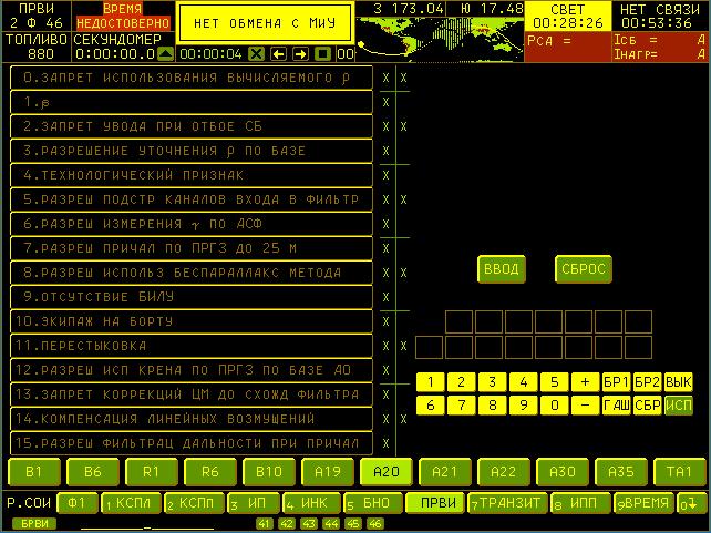 Разработка симулятора космического корабля Союз ТМА - 9
