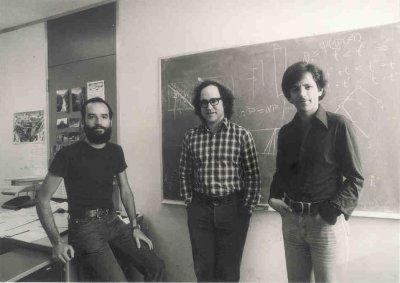 Ади Шамир, Рональд Ривест и Леонард Адлеман — создатели алгоритма несимметричного шифрования