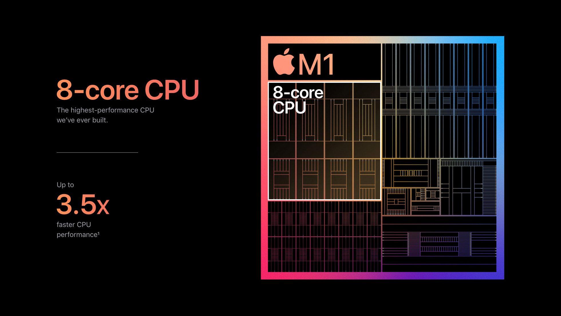 Бенчмарки Apple M1 в реальной разработке - 1