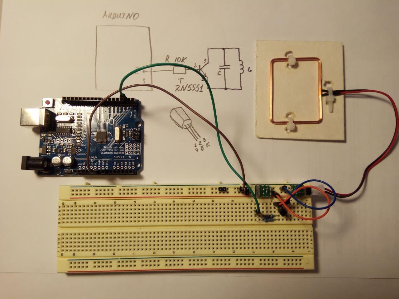 Эмулятор RFID на Arduino - 4