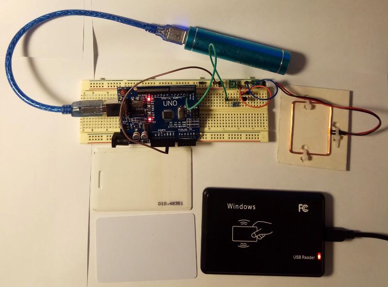 Эмулятор RFID на Arduino - 1