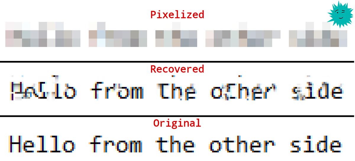 Разработана опенсорсная утилита Depix для восстановления паролей с размытых скриншотов - 1