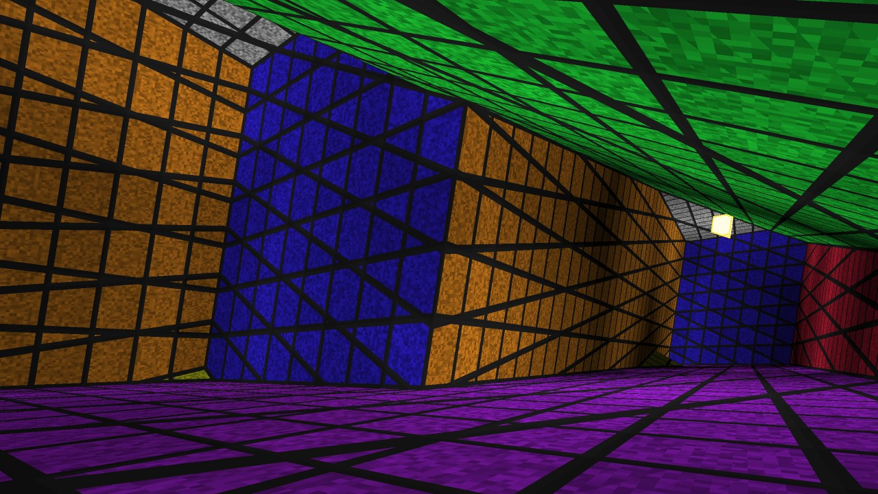 Четырёхмерный лабиринт с видом от первого лица - 14