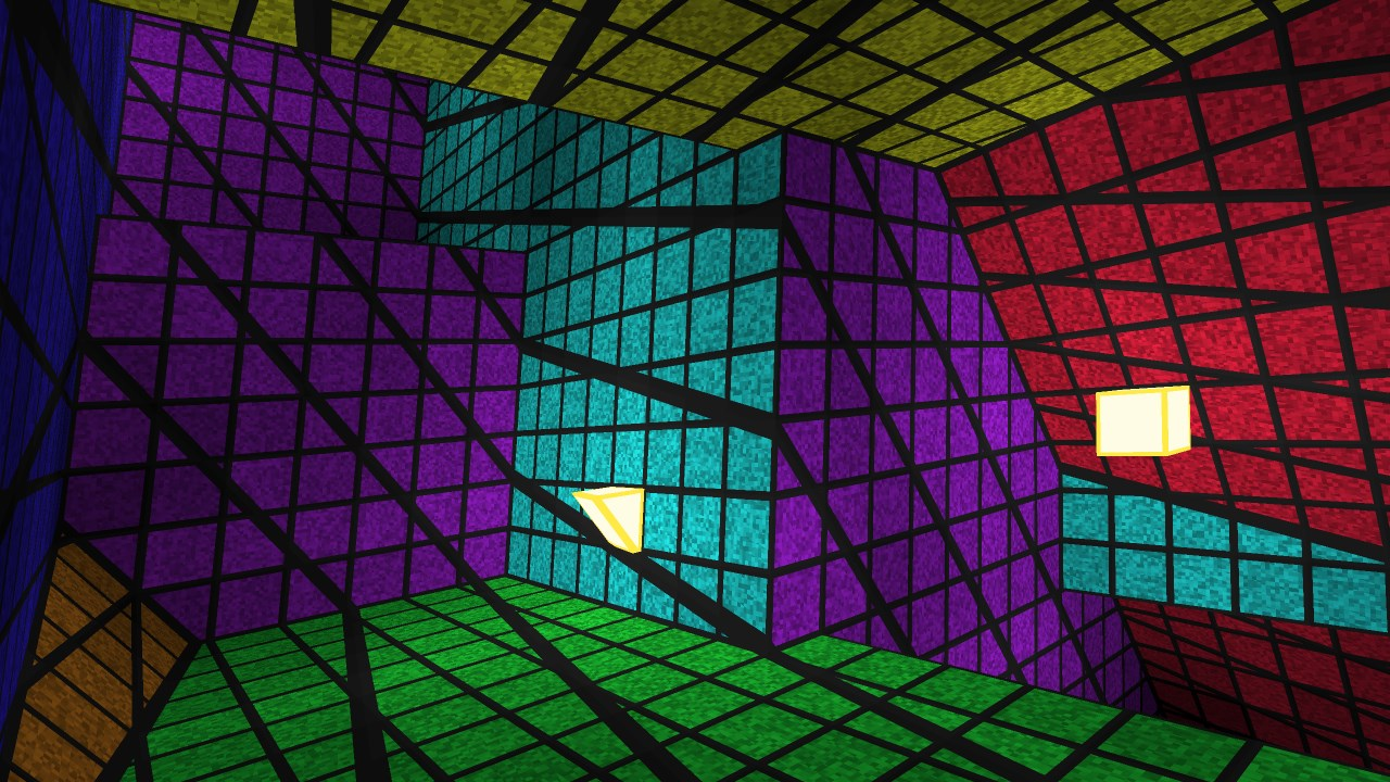 Четырёхмерный лабиринт с видом от первого лица - 15