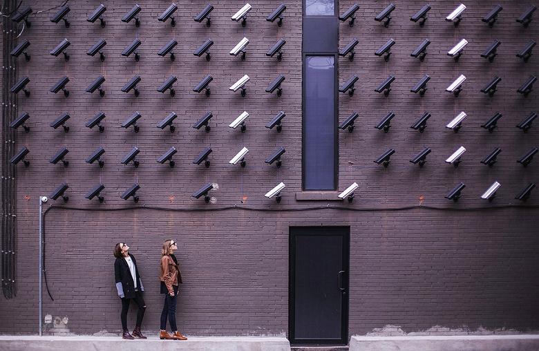 По количеству камер видеонаблюдения Россия уступает лишь Китаю и США