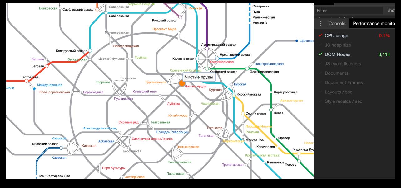Получилось найти только схему метро на SVG