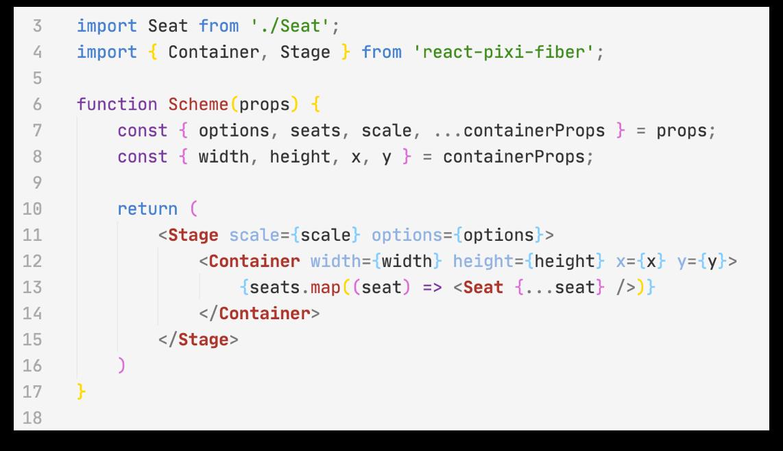 Делаем схему выбора мест в кинозале на React: о canvas, красивом дизайне и оптимизации - 8