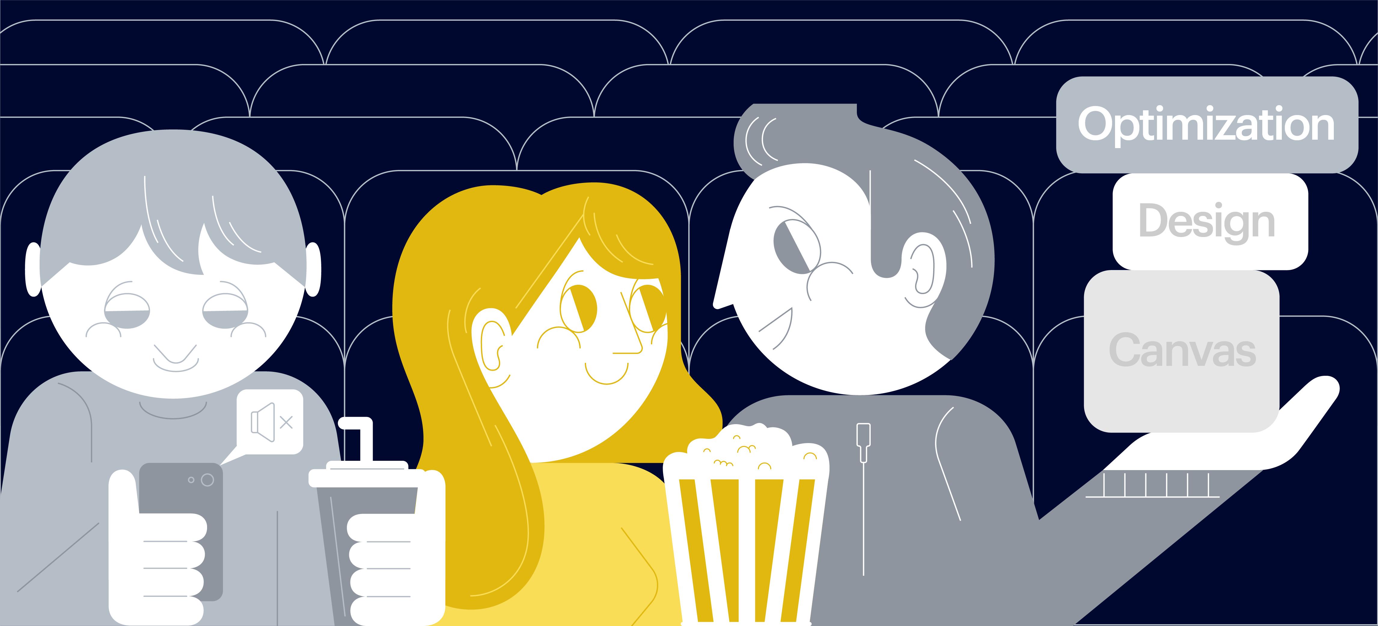 Делаем схему выбора мест в кинозале на React: о canvas, красивом дизайне и оптимизации - 1