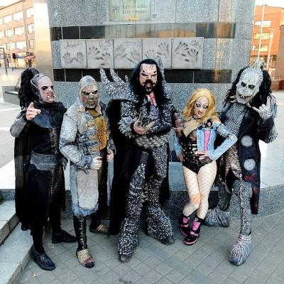 Группа Lordi в текущем составе