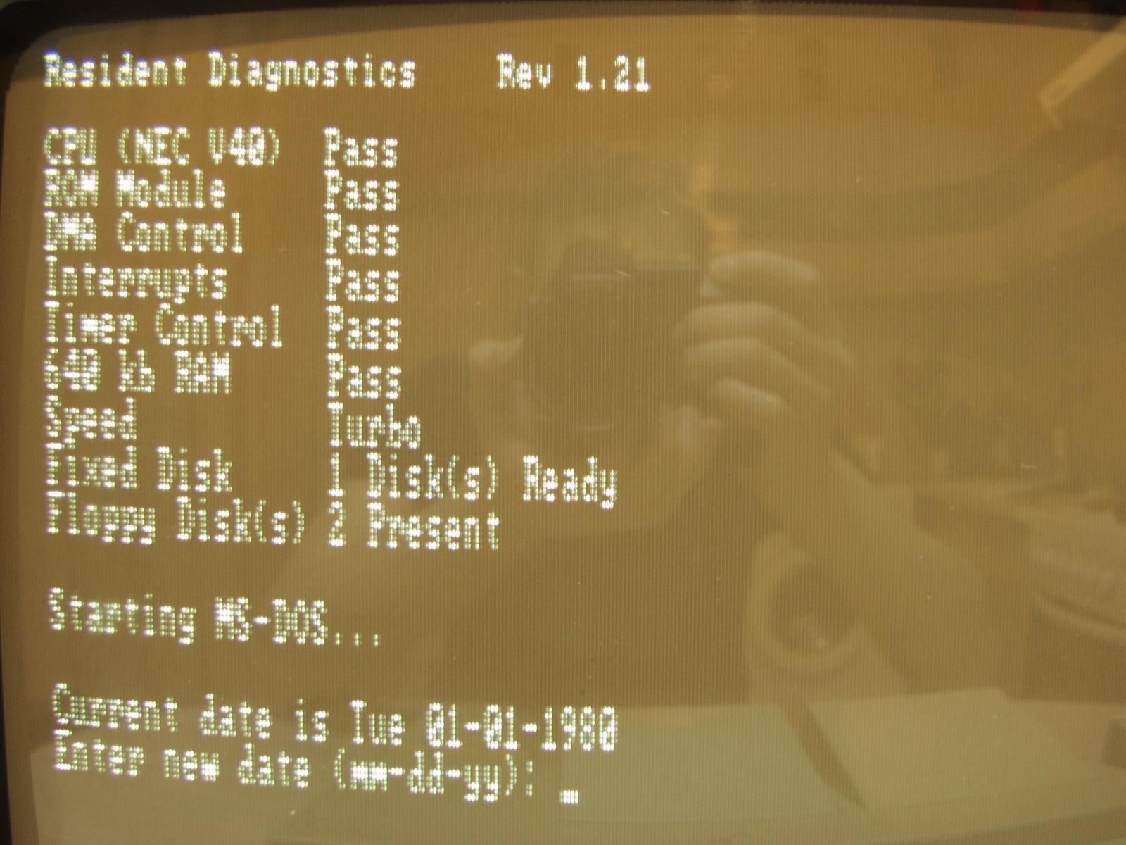 Итальянская IBM-PC Olivetti Prodest PC1 HD - 13