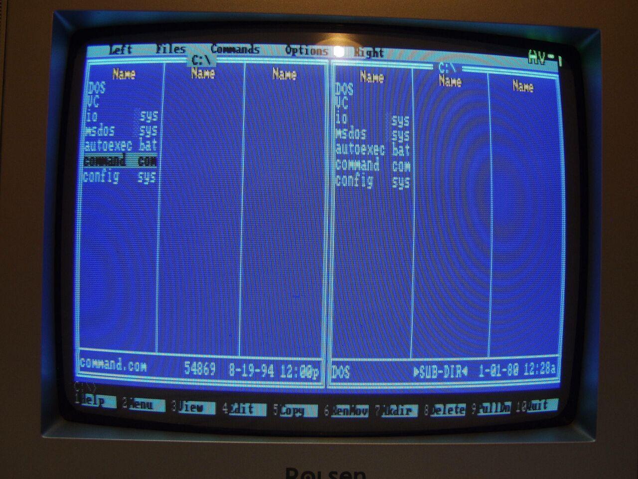 Итальянская IBM-PC Olivetti Prodest PC1 HD - 14